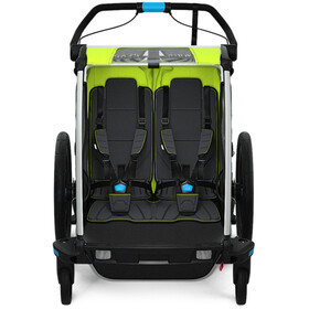 Thule Chariot Sport 2 Fietstrailer, chartreuse/mykonos